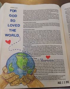 John 14 Bible journaling | 1000+ images about Bible Journal Ideas on Pinterest | Bible journal ...