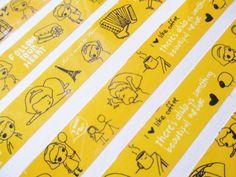 Yellow, Black & White by dariA KAshcheeva on Etsy