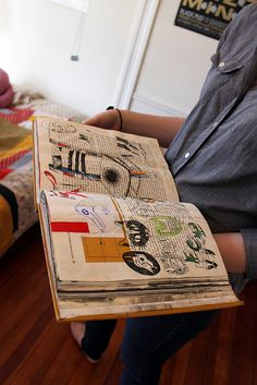 Altered books is another great way to make books!