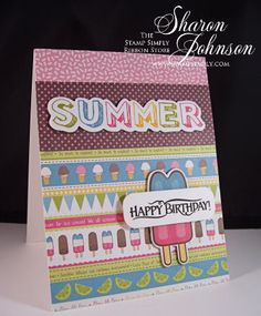 No Time To Stamp? » Cool Summer Birthday Cards for Kids