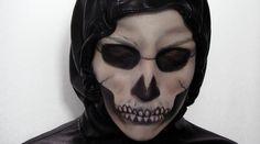 Maquillage d'Halloween : Squelette