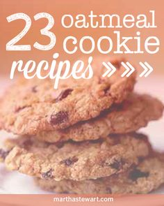 Raisins or chocolate chips? It's a defining question among oatmeal-cookie lovers. Find your preference, and many other tempting variations, in our collection of oatmeal cookie recipes.