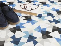 "Keidos Tiles by MUT Design | ""WALK ON LIMITLESS KALEIDOSCOPIC TILES"""