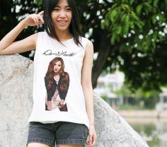 Demi Lovato  Tank topTank shirtTshirtCrop tankCute by RainbowTank, $14.89 Cute Tank Tops, Demi Lovato, T Shirts For Women, Trending Outfits, Unique, Clothes, Vintage, Etsy, Fashion