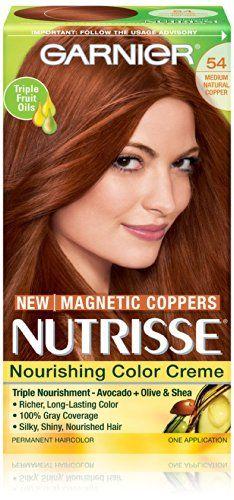 Garnier Nutrisse Nourishing Color Creme, 51 Medium Ash ...