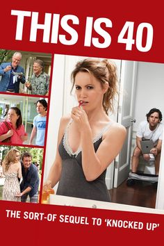 Rent This Is 40 starring Paul Rudd and Leslie Mann on DVD and Blu-ray. Get unlimited DVD Movies & TV Shows delivered to your door with no late fees, ever. Funny Movies, Great Movies, Hd Movies, Movies To Watch, Movies Online, Movies And Tv Shows, Comedy Movies, Cloud Movies, Funniest Movies
