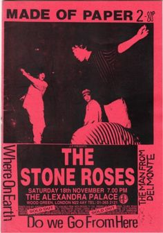 Made of Paper issue 2: the stone roses