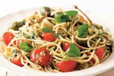 Pesto, Spaghetti, Food And Drink, Menu, Ethnic Recipes, Lasagna, Essen, Menu Board Design, Noodle