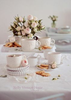 nelly vintage home: Time for tea