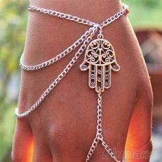 Hamsa slave bracelet
