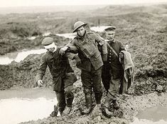 Battle of Passchendaele in 1917 was fought for control of the ridges south & east of Ypres, Belgian. Estimated total casualties of 848,614.