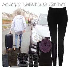 """Arriving to Niall's house with him"" by sophie-188 ❤ liked on Polyvore featuring Gucci, Topshop, Louis Vuitton, Dorothy Perkins, ONLY and UGG Australia"