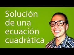 Solución de una ecuación cuadrática. Ejercicio 1 de 15 - YouTube