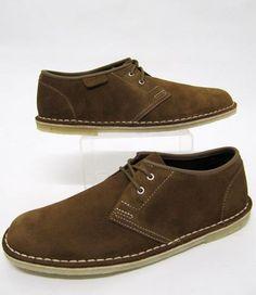 Clarks Originals Jink Suede Shoe in Cola,clarks originals jink, mens suede  shoes