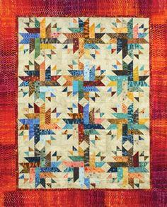 Kaufman Kim Brackett Nova Quilt Kit on Hancocks-paducah