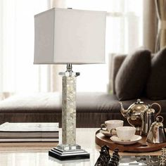 simplicity style white e27 diameter 16cm shellfabric bedroom table lamp - Bedroom Table Lamps