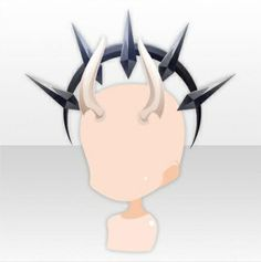Devil Whisper Angry Horn ver.A white Christmas Candle, White Christmas, Heart Braid, Big Clocks, Event Guide, Cocoppa Play, Braids For Short Hair, Butterfly Dress, Head Accessories