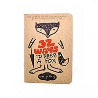 Wee Gallery - Cahier de dessin Fox - My Little Square