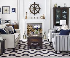 Take a style cue from Ralph Lauren Looking to add a little nautical chic to...