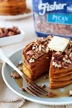 Pumpkin Pancakes | My Baking Addiction