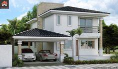 Planta de Sobrado - 3 Quartos - 144.46m² - Monte Sua Casa