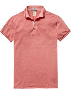 NEW IN AUGUST | SCOTCH & SODA TWO TONE POLO SHIRT $89.95 | IN STORE NOW