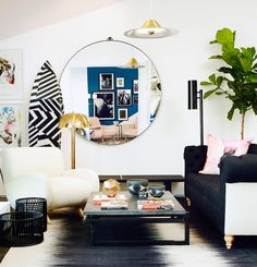 At Consort, we like our designs to feel well-rounded, literally and figuratively. Round mirrors have become a classic Consort touch that adds shape any space (s