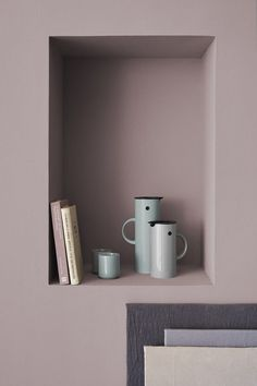 Beautiful spring colors in the new collection of Stelton. I'm in love with the brass storage container by the way. The post Stelton appeared first on COCO LAPINE DESIGN. Decor, House Design, Interior Inspiration, Nordic Design, Interior Design, Wall Colors, Home Decor, House Interior, Stelton