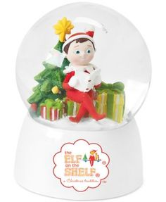 THE ELF ON THE SHELF~Roman Elf Snow Globe