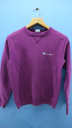 aba0860229 Vintage Champion Minimalist Logo Crewneck Sweatshirt Hip Hop Sport Sweater
