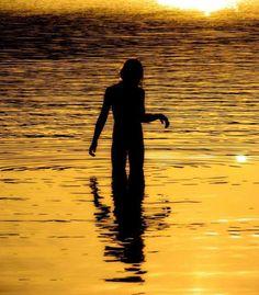 Beautiful human silhouettes