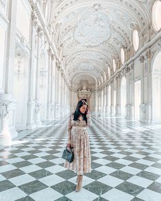 Turin palais de la Venaria Réal Turin, Travel Goals, Lightroom, Wedding Dresses, Bag, Outfits, Instagram, Fashion, Italia