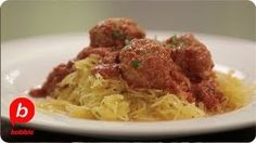 Spaghetti Squash & Meatballs - YouTube
