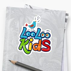 'Loo Loo Kids' Sticker by StefaniaAlina Baby Songs, Kids Stickers, Transparent Stickers, Glossier Stickers, Nursery Rhymes, Finding Yourself, My Arts, Art Prints, Children