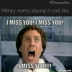 What I feel everyday since Nico left for basic .. lol