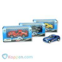 Race auto metaal 1:43 -  Koppen.com