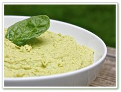 Helyn's Healthy Kitchen: Simple Spinach Hummus