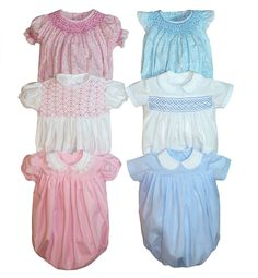 Children's Corner pattern Jamie is the only bubble dressy bubble pattern you will ever need. it is for girls or boys and the variety of bubbles are smocked, gathered or pleated. Sizes 3 months - 24 months are included in one package.