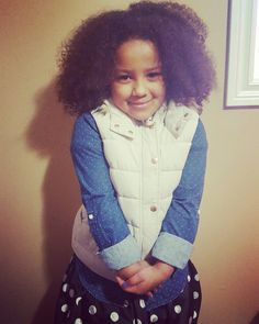She's got her own style. #naturalhair