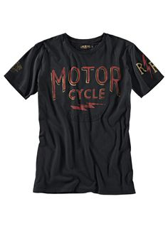 "Bad&Bold - Rude Riders T-Shirt ""Motor Cycle"" - T-Shirts - Biker-Shirts für Ihn - Shirts"