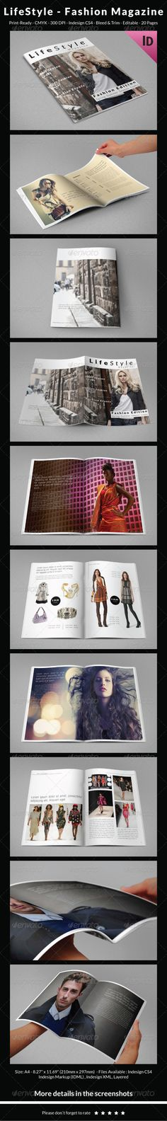 Indesign Catalog - Portfolio Brochure Template InDesign INDD ...