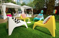IKEA PS vagö fauteuil en blanc; empilable; Pour l/'extérieur; 71 cm Chaise de jardin