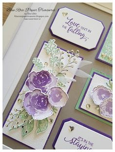 Blue Rose Paper Treasures: Frosted Floral Fun Fold Cards and x Frame Folded Paper Flowers, How To Make Paper Flowers, Fancy Fold Cards, Folded Cards, 3d Paper Crafts, Paper Crafting, Paper Art, Scrapbooking, Frame Crafts