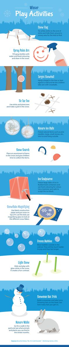Winter Play Activities - Why Kids Should Play Outdoors in Winter