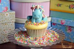 Fairy Tale Recipe & Tutorial: Rainbow Unicorn Cupcakes! - Juniper Bakery