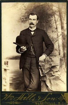 Hot Vintage Men: The Handsome Gent from Olneyville, Rhode Island