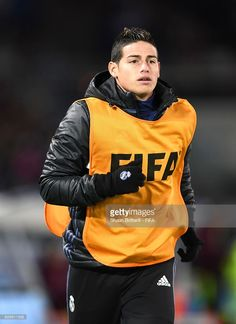 421e8d258f1 James Rodriguez of Real Madrid warms up during the FIFA Club World Cup Semi  Final match