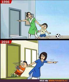 Minulost vs. současnost