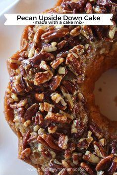 Fall Desserts, Just Desserts, Delicious Desserts, Pecan Desserts, Make Ahead Desserts, Ice Cream Desserts, Strawberry Desserts, Cake Mix Recipes, Dessert Recipes
