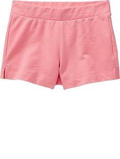Girls Terry-Fleece Shorts
